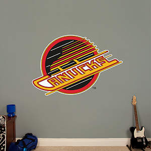 Vancouver Canucks Vintage Logo Fathead Wall Decal
